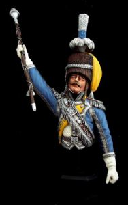 Imperial Guard Drum Major Bust - SALE